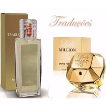 Perfume Lady Million Feminino Traduções Gold Hinode 100ml