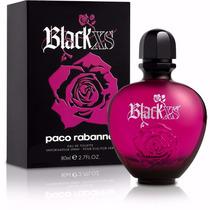 Perfume Black Xs Feminino Paco Rabanne 80ml Edt 100%original