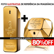 Kit 1 Million + Lady Million Paco Rabanne (contratipos)
