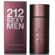 212 Sexy Men - Carolina Herrera - 100ml - Original Lacrado