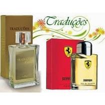 Perfume Ferrari Red 100ml Importado Hinode Masculino