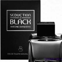 Perfume Seduction In Black Antonio Bandeiras Men Edt 100ml