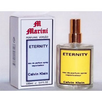 Perfume Versão Eternity Edt Calvin Clein 100ml Feminino
