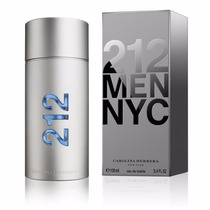 Perfume 212 Men 100ml Carolina Herrera 100% Original Lacrado