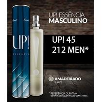 Perfume Up Essencia 45 - 212 Man- Original Frete Gratis