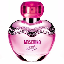 Perfume Moschino Pink Bouquet Fem Eau De Toilette Edt 100ml