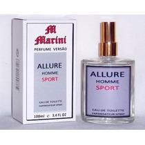 Perfume Versão Allure Homme Sport 100ml Masculino Importado