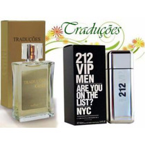 Perfume 212 Vip Men Masculino 100ml + Frete