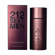Perfume Carolina Herrera Ch 212 Sexy Men Edt 100ml
