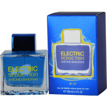 Perfume Electric Seduction Blue Masculino Edt 100ml