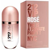 Perfume 212 Vip Rosé 80ml Carolina Herrera Edp Original