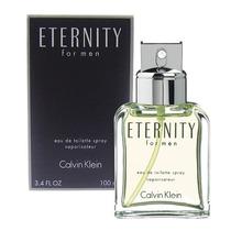 Perfume Ck Eternity Masculino 100ml Edt Calvin Klein Origina