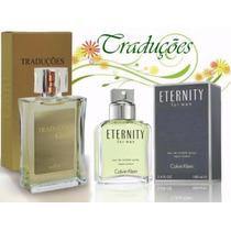 Perfumes Hinode Traduções Gold Nº 59 Ck Eternity Men - 100ml