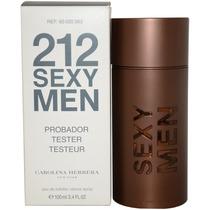 Tester 212 Sexy Men 100ml Oficial C Garantia Procedencia