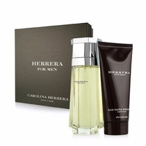 Kit Herrera For Men: Edt 100ml + Loção Pós Barba 100ml