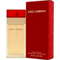 Perfume Feminino Dolce Gabbana Tradicional Vermelho 100ml.