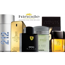 Perfumes Hinode 100ml - 212 Vip Man, 212 Sexy, 212 Woman