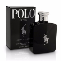 Ralph Lauren Polo Black 125ml Masculino - Lacrado Original