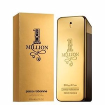 Perfume One Million 200ml Paco Rabanne Original Lacrado