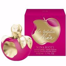 Perfume Nina Ricci Tentacion Eau De Toliette Feminino 50ml