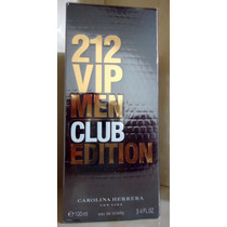 212 Vip Men Club Edition Edt 100 Ml Carolina Herrera