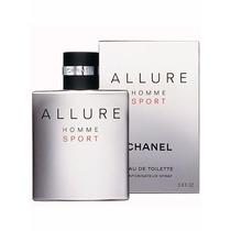 Perfume Allure Sport Masculino 100ml Chanel Original Lacrado