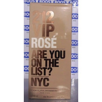 Perfume 212 Vip Rosé 80ml Edp Feminino Original Lacrado