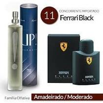 Ferrari Black Upessencia 50ml+ Brinde Amostra Da Sua Escolha