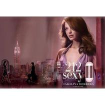 Perfume 212 Sexy/ Contratipos Excelente Qualidade E Fixação