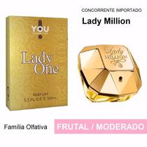 Perfume Lady Million - Na Versao You Take On Lady One 100ml