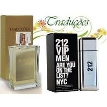 Perfume 212 Vip Men Carolina Herrera 100ml Hinode Original