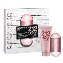 Perfume 212 Sexy Feminino Edp 100 Ml + Body Lotion 100 Ml