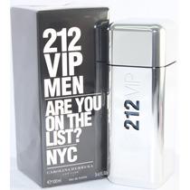 Perfume 212 Vip Men Carolina Herrera 100ml Importado Usa