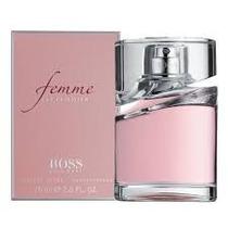 Perfume Hugo Boss Femme 75ml Edp Feminino Original Lacrado