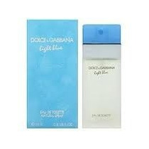 Perfume Light Blue Fem. Eau De Toilette 50ml