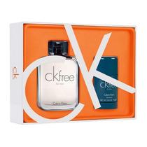 Kit Perfume Ck Free 100ml + Desodorante Ck Free 75ml