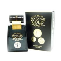 Perfume New Brand Gold Edt Inspiração 1 Million Paco Rabane