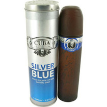 Perfume Cuba Silver Blue Masculino 100 Ml Original