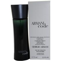 Perfume Armani Code 75ml Giorgio Armani ( Tester ) Original