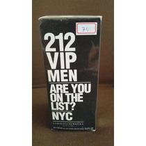 Perfume Importado 212 Vip Men 100 Ml Original Lacrado