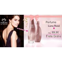 Perfume Natura Luna Rosé Promoção +frete Grátis Brasil