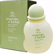 Colônia Mamãe E Bebê 100ml +loção Hidratante 200ml + Brinde