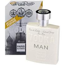 Perfume Vodka Man 100ml Fragrância 212 Vip Masculino C H Ny