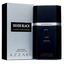 Kit 02 Perfumes 01 Azzaro + 01 Silver Black 100ml Original.