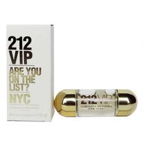 Miniatura Perfume 212 Vip Edp Feminino 5ml Carolina Herrera