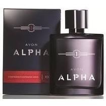 Perfume Masculino Alpha 100ml Avon