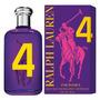 Polo Big Pony Purple 4 Feminino Fica Perfumada O Dia Todo!