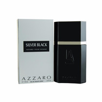 Perfume Azzaro Silver Black 100ml Edt - Original