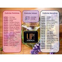 5 Unidade Perfumes Importado Upessência Diversas Fragrâncias