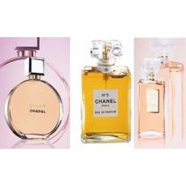Perfumes Chanel /chance /nº 5 /coco Mademoiselle Fem. 100ml